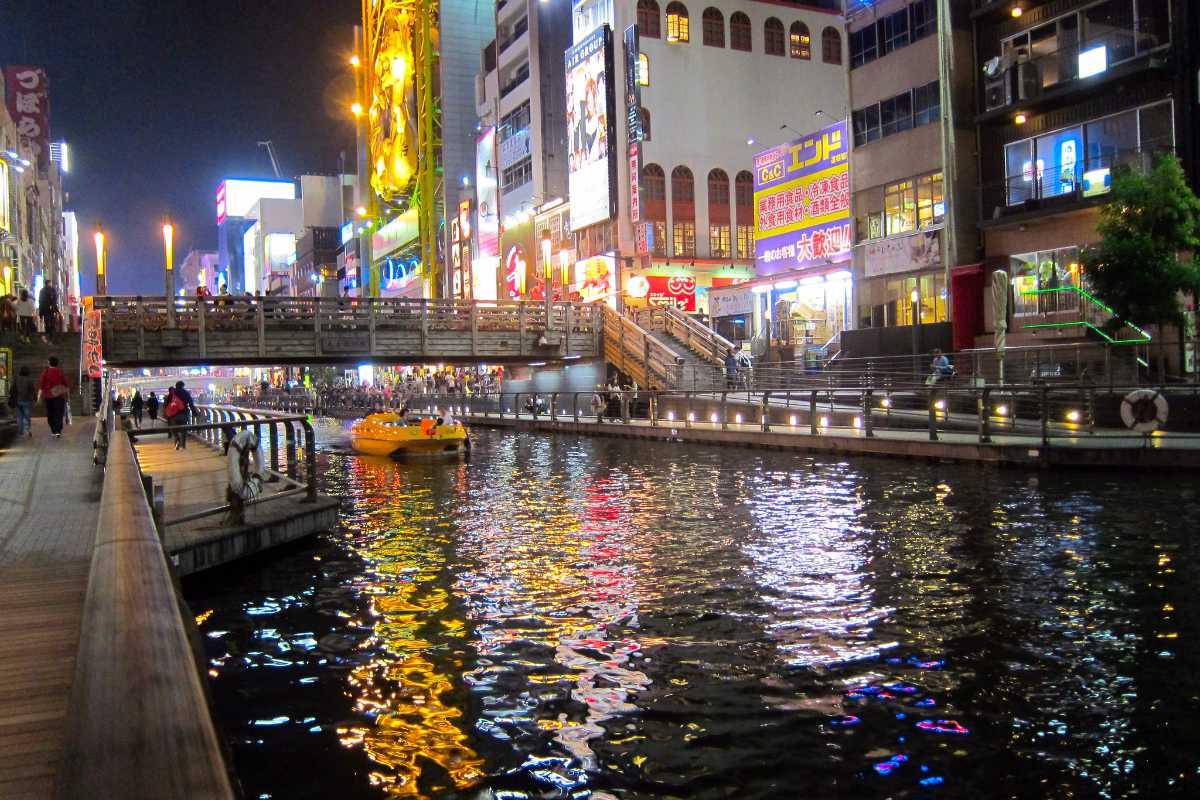 大阪の運河