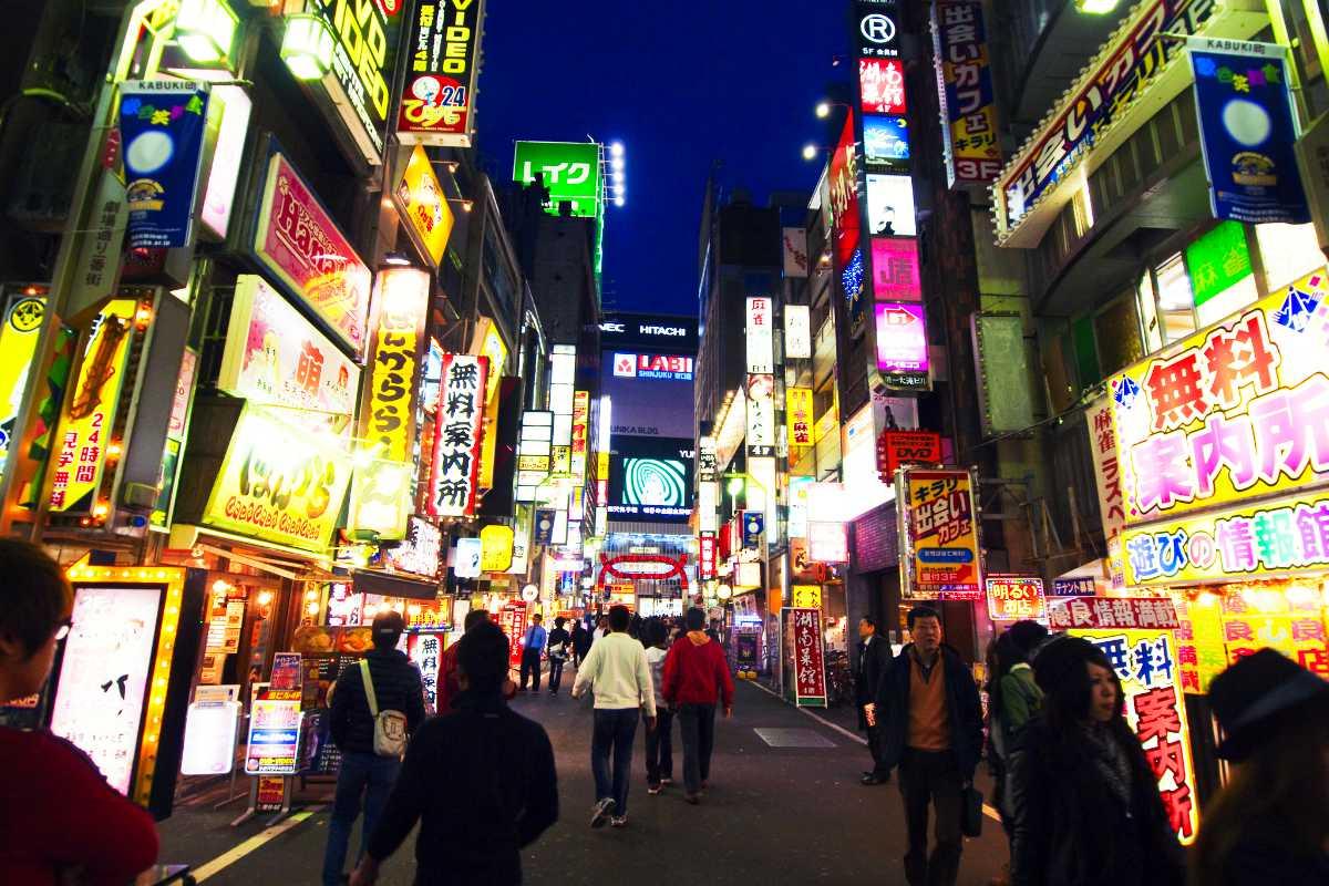 東京のナイトライフ