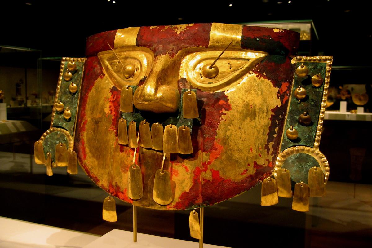Máscara funeraria