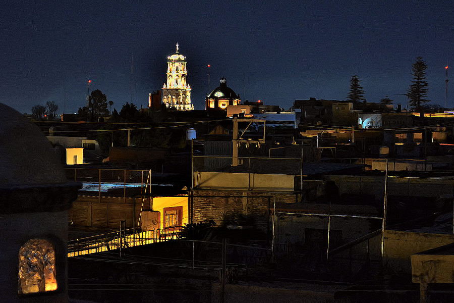 Queretaro night
