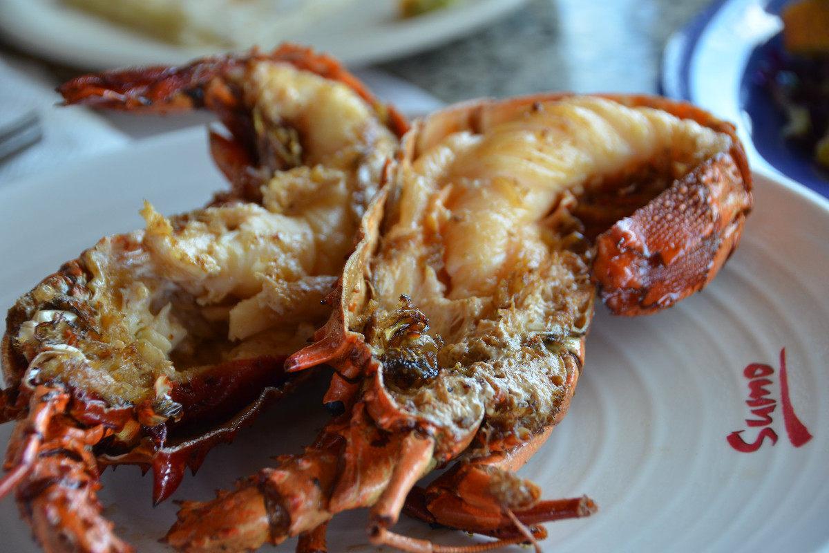 Puerto Nuevo lobsters