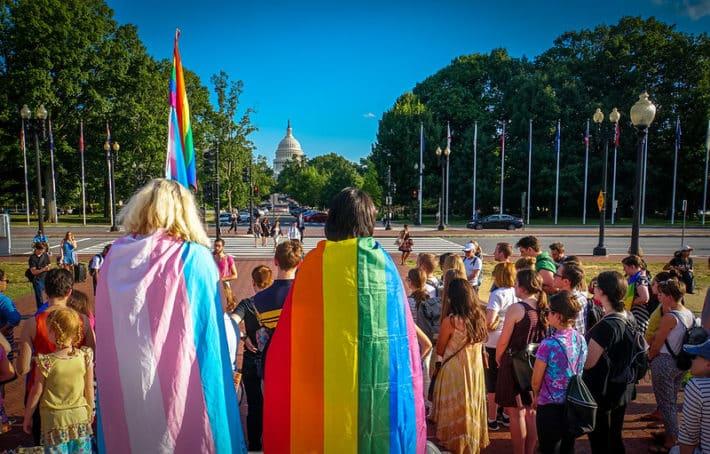 LGBT and Transgender flag