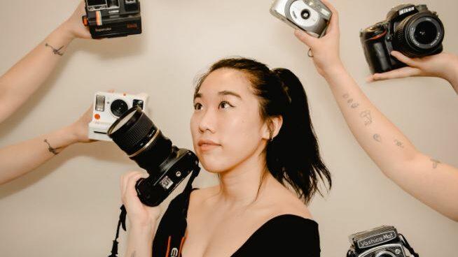 a transgender photographer